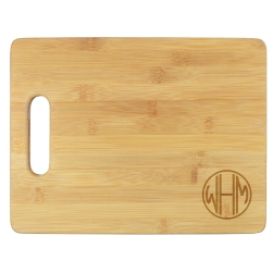 Henley Monogram Cutting Board - Engraved