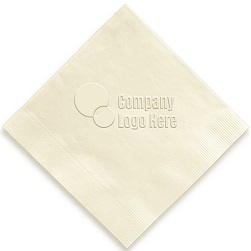 Custom Napkin - Embossed