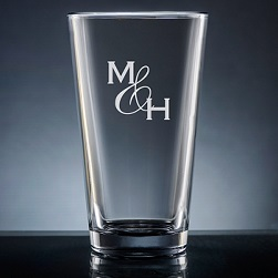 Amor Pint Glass