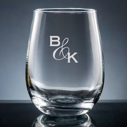 Amor Stemless Wine Glass